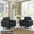 Duchess Armchair Leather Set of 2