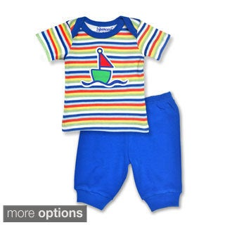 Spencer's Boy's Top and Pants Set in Sailboat