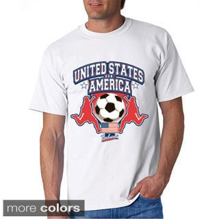 USA Soccer White Cotton T-shirt