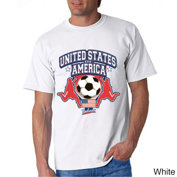 USA Soccer White Cotton T-shirt