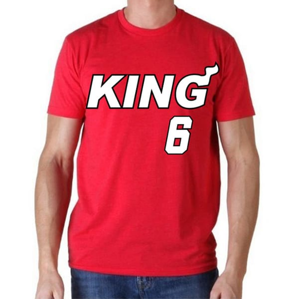 Miami Heat 'King 6' T-shirt
