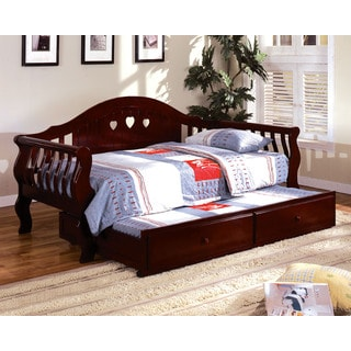 Tuzla Twin-size Cherry Curved Back Daybed
