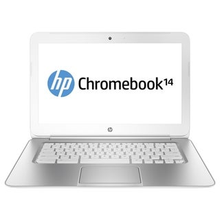 "HP Chromebook 14 14"" LED Notebook - Intel Celeron 2955U 1.40 GHz - Bl"