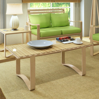 CorLiving AquiosContemporary Bentwood Coffee Table