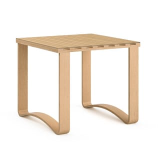 CorLiving Aquios Contemporary Bentwood End Table