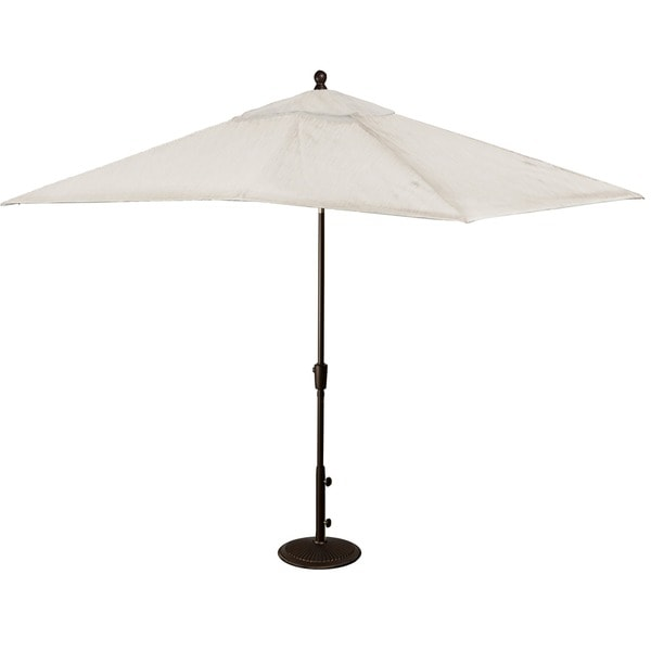 Caspian Rectangular Market Olefin Umbrella