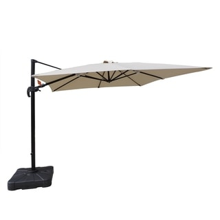 Santorini II 10-foot Square Cantilever Umbrella