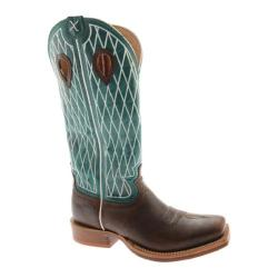 Men's Twisted X Boots MRSL020 Copper/Turquoise Leather