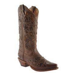 Women's Twisted X Boots WSO0001 Chocolate/Python Leather
