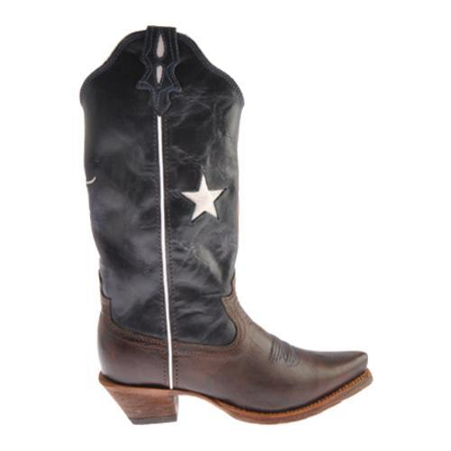 Women s Twisted X Boots WSO0012 Saddle/Texas Flag Leather