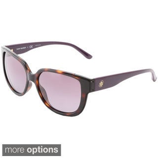 Tory Burch Women's TY9023 Gradient Round Sunglasses