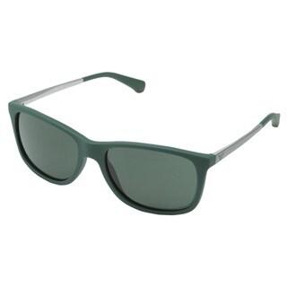 Emporio Armani Men's 'EA4023' Metal & Plastic Square Sunglasses