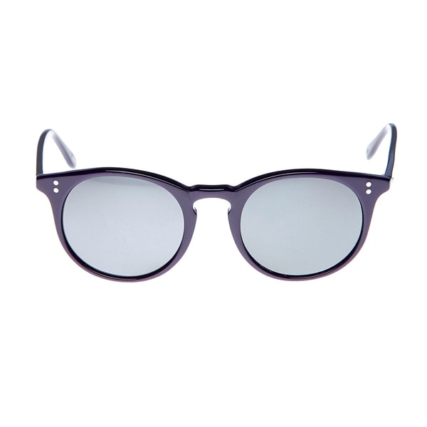 GANT Women's 'Stewart' Purple Rounded Sunglasses