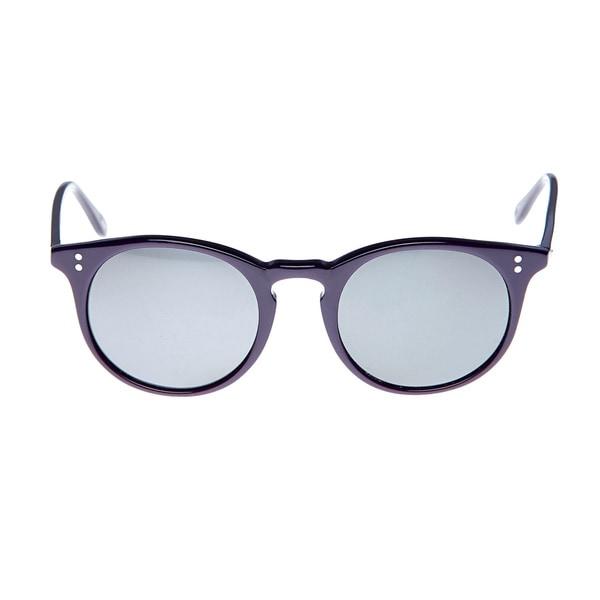GANT Women's 'Stewart' Purple Rounded Sunglasses