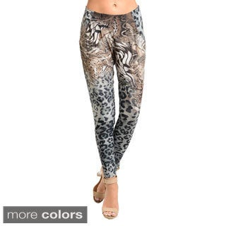 Stanzino Women's Animal Print Leggings