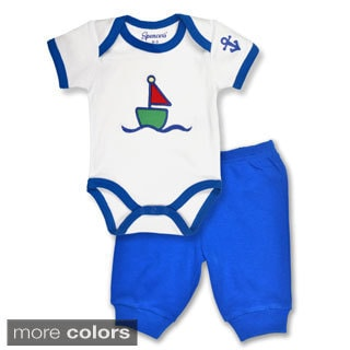 Spencer's Sailboat Boy's Bodysuit and Pant Set