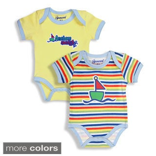 Spencer's Sailboat Boy's Bodysuits Set