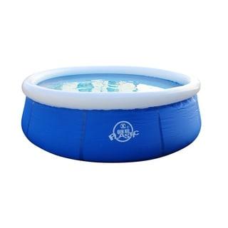 EZ Pool Inflatable Plastic Pool