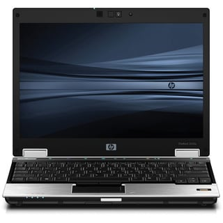 HP EliteBook 2530p 12.1-inch Intel Core 2 Duo 1.8GHz 4GB 120GB Win 7 Notebook