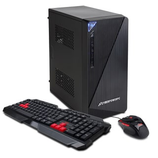 CyberpowerPC Essential-K EK1000 Intel G3240 3.1 GHz Gaming Computer