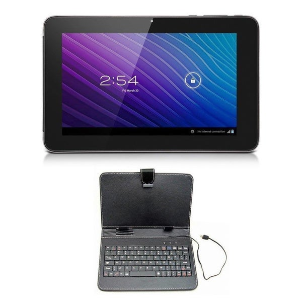 SVP 10-inch Android 4.1 Capacitive Touchscreen Tablet with Keyboard Case