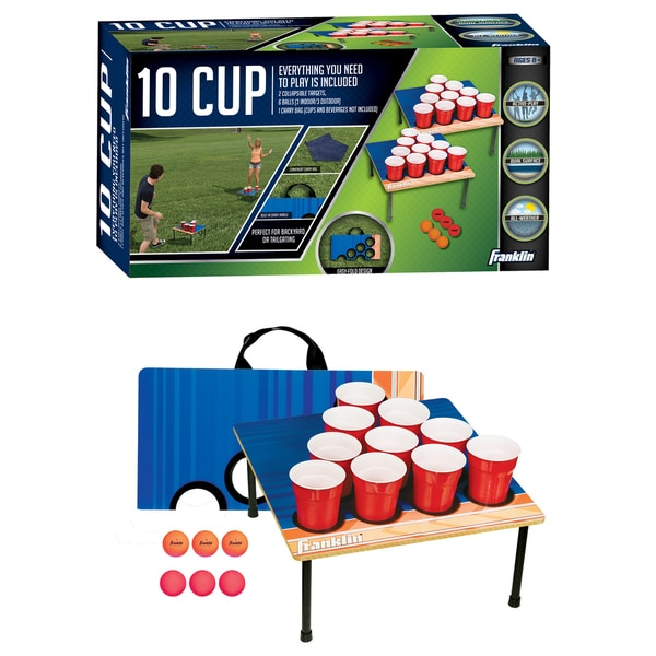 Franklin Sports Fold-N-Go 10 Cup Game 13057233