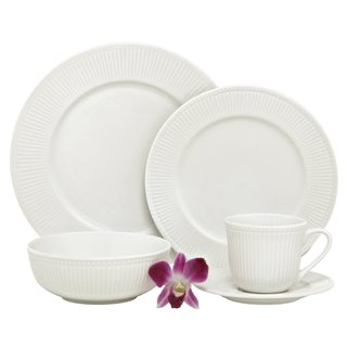 Melange New Italian Villa White Porcelain Dinner Set