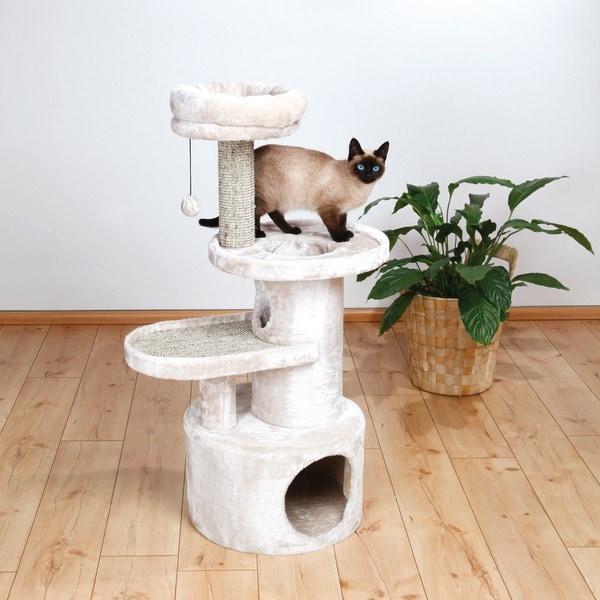 Trixie Alessio 44-inch Plush Cat Tree