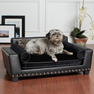 Noir Black Furniture Pet Bed