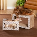 Enchanted Home Pet 'Cats Out Of The Bag' Cat Scratcher