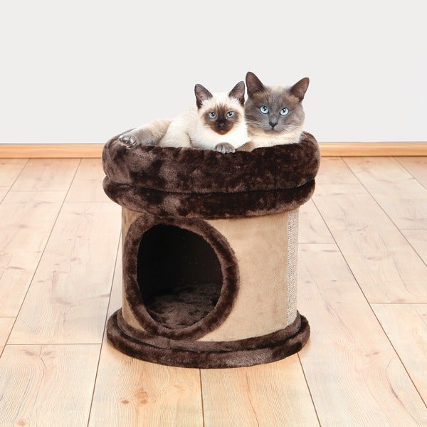 Trixie Toni 16-inch Plush Cat Condo