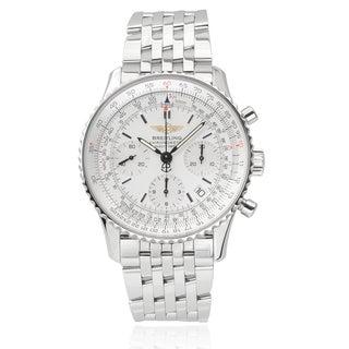 Breitling Men's Stainless Steel Navitimer Chronograph Watch