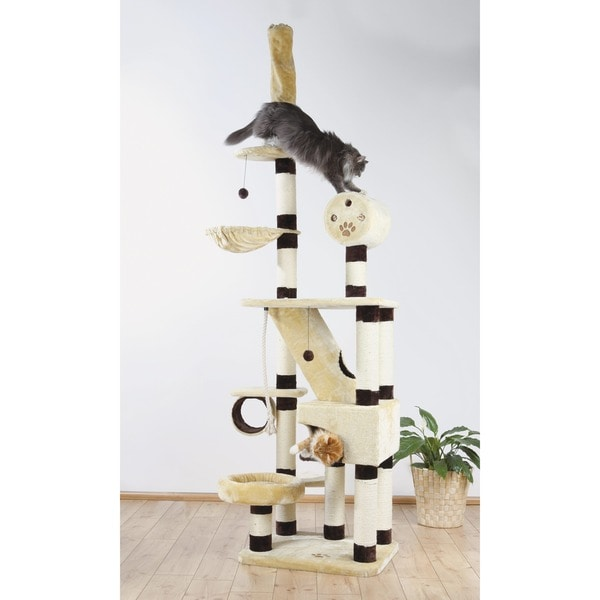 Trixie Belorado Adjustable Plush Cat Condo