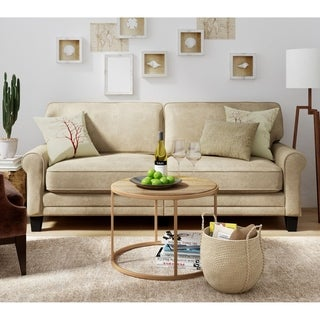 Serta Copenhagen Collection Vanity Beige Deluxe Sofa