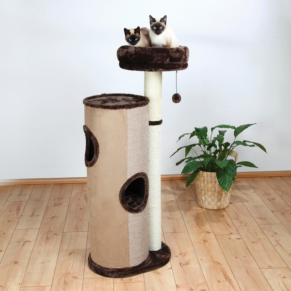 Trixie Julio 55-inch Plush Cat Condo