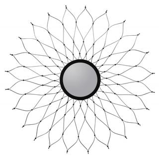 Laken Metal Wire Round Mirror