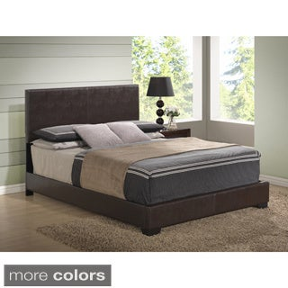 King High Headboard PU Bed
