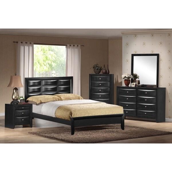 Black Livia Queen Bed