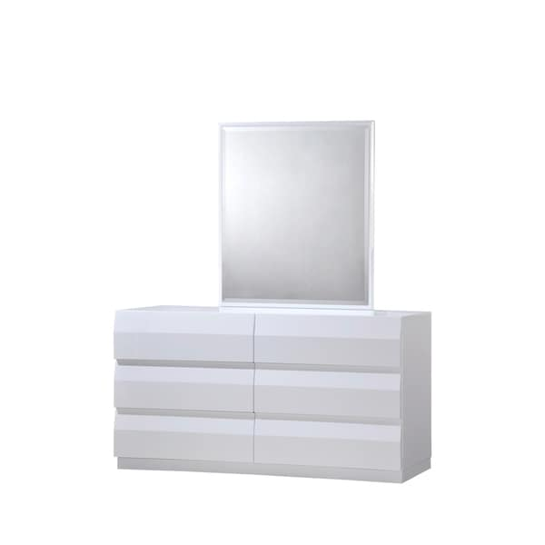 White High Gloss Dresser