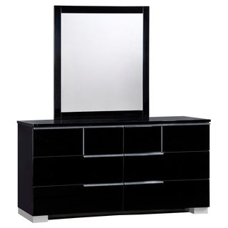 Black High Gloss Mirror