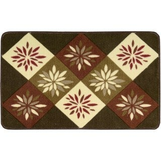 Nourison Accent Decor Brown Rug (1'8 x 2'6)