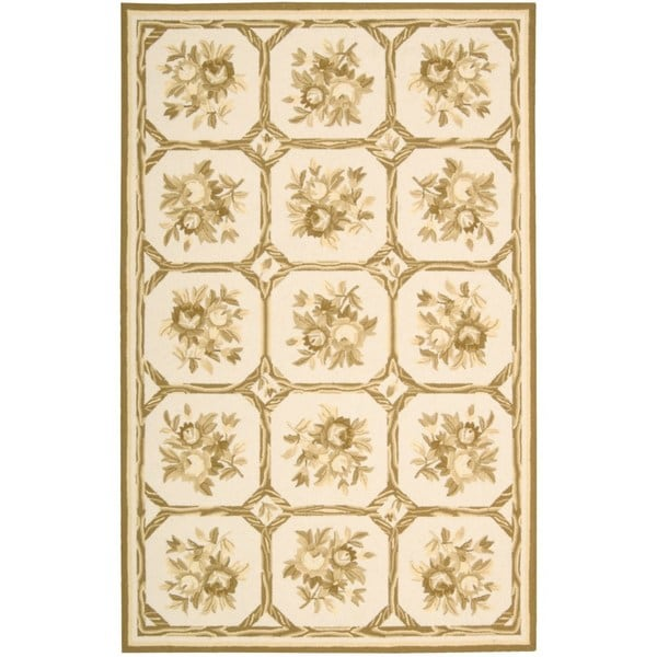 Nourison Country Heritage Ivory/Yellow Rug (1'9 x 2'9) - 1'9 x 2'9 13058384