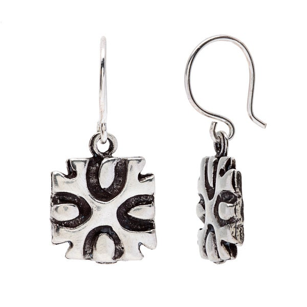 Sterling Silver Lucky Horseshoe Earrings