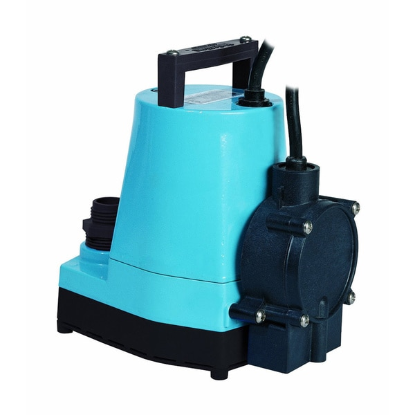 Little Giant 505202 5-MSP Water Wizard 5 Series Submersible Utility Pump, 1/6 Horsepower