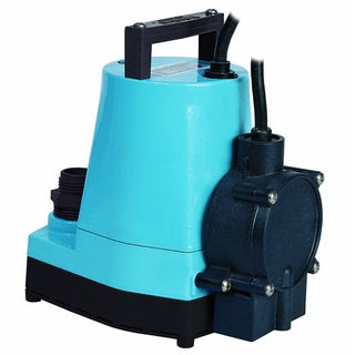 Little Giant 505176 5-MSP Water Wizard 5 Series Submersible Utility Pump, 1/6 Horsepower