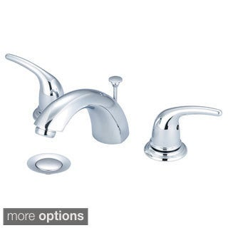 Three Hole Bathroom Faucets Overstock Shopping The