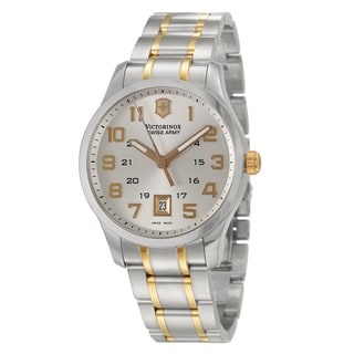 Victorinox Swiss Army Men's 'Classic Alliance' Stainless Steel Military Time Watch