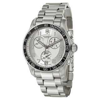 Victorinox Swiss Army Men's 'Chrono Classic' Stainless Steel Chronograph Tachymeter Watch