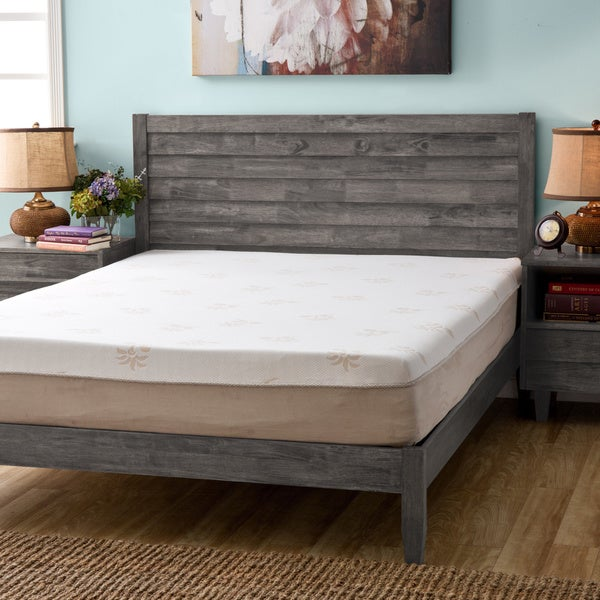 Grande Hotel Collection 11-inch Queen-size Trizone Gel Memory Foam Mattress