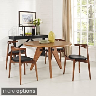 Stalwart Dining Chairs and Table (Set of 5)